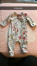 Ted Baker Baby Girls Sleepsuit 0-3 Months