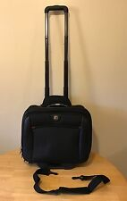 SwissGear Wenger The Potomac Rolling Overnight Bag, Excellent Condition! WA-7966