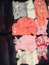 Bulk Baby Girl Clothes Size 000 (8 Items)