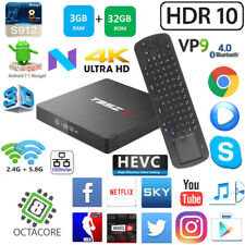 T95Z Max S912 Octa 8 Core 3G 32G Android 7.1 TV Box Measy RC12 Wireless Keyboard