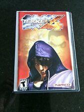 Tekken 4 (Sony PlayStation 2, 2002) Game Complete fighting Teen series Battle