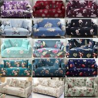 23 Styles Floral Stretch Sofa Cover Elastic Slipcover Couch Covers Protector USA