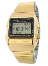 CASIO Vintage Retro Gold DB380G-1 Databank 5 Alarm Telememo @