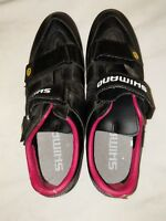 Shimano SH-R090 Cycling Shoes 45 EU US 11.5? Black Free S&H Lightly Used