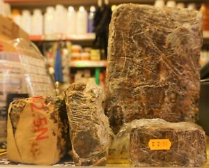 100% PURE AFRICAN BLACK SOAP 1KG FROM GHANA
