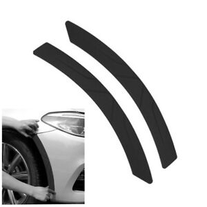1 Pair Weatherproof Silicone Moulding Trim For Car Wheel Eyebrow Fender Flares