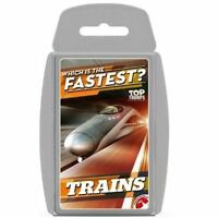 Trains Top Trumps Card Game
