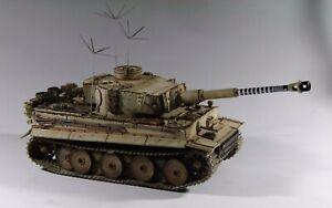 1/30 WW2 German Tiger Early Production Michael Wittmann S04 Version