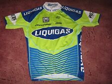 LIQUIGAS CANNONDALE SANTINI LYCRA ITALIAN CYCLING JERSEY [42/S]