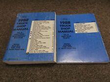 1988 Ford Bronco Econoline F150 F250 F350 Super Duty Service Repair Manual Set