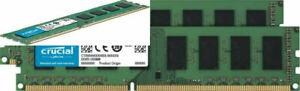 Crucial RAM 16GB Kit (2x8GB) DDR3 1600 MHz CL11 Desktop (8GBx2)