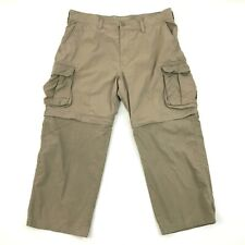 Sonoma Convertible Cargo Pants Size 38 Waist Adult Nylon 2-In-1 Short Life+Style