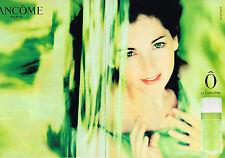 PUBLICITE ADVERTISING 045  2000  LANCOME  parfum femme ( 2p) O