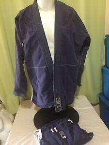 Shoyoroll Kimonos Men's Navy Blue Jiu Jitsu Gii & Pants Size A3
