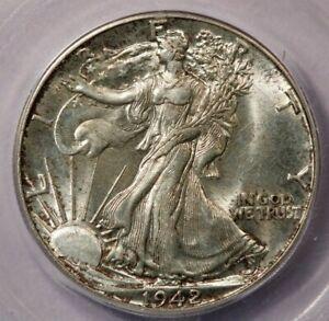 1942-P 1942 Walking Liberty Half Dollar ICG MS63