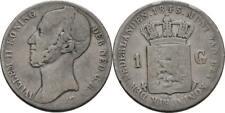 Gulden 1845 Niederlande Willem II., 1840-1849, Wappen #Y338