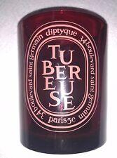 DIPTYQUE *EMPTY* CANDLE JAR TUBEREUSE TUBEROSE RED 300g Large Size
