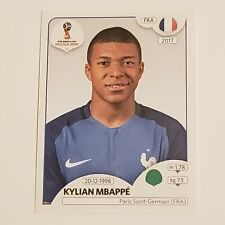 2018 PANINI WORLD CUP - KYLIAN MBAPPE (FRANCE) - ROOKIE STICKER RC #209