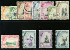 Swaziland 1956 QEII set complete very fine used. SG 53-64. Sc 55-66.