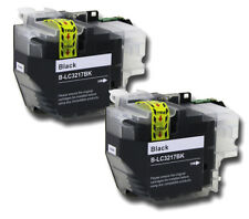 2 Tintas Negro para hermano MFC-J5330 MFC-J5335 MFC-J5730 (LC3217/LC3219XL)