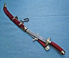 antique 19thc Chinese shuang dao pair sword China Yunnan knife Asian dagger Jian