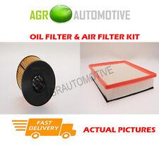 DIESEL SERVICE KIT OIL AIR FILTER FOR RENAULT MASTER T35 2.5 99 BHP 2003-09