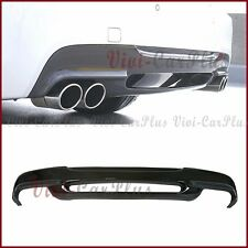 For BMW 06-11 E90 E91 328i 335i M Tech Bumper Carbon Fiber 3D Look Rear Diffuser