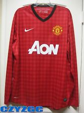 BNWT Manchester United 2012-2013 Long-Sleeves Home Shirt XL