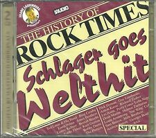 The History Of Rock Times Special Schlager Goes Welthit DCD Various Audiophile N