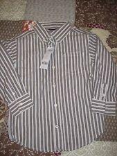 Gymboree XS (3-4) LS Striped Shirt, NWT