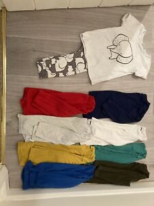 Boys 1-5-2 Years, 18-24 Months Bundle Of Next Long Sleeve Tops. Next Elephant.