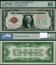 FR. 1500 $1 1928 Legal Tender Gem PMG CU65 EPQ
