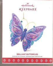 2017 Hallmark Ornament Brilliant Butterflies #1 in Series