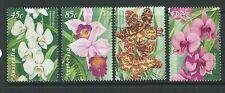 AUSTRALIA 1998 AUSTRALIA SINGAPORE ORCHIDS FINE USED