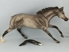 Breyer 740701 Reflections Dapple Grey Model Horse Cigar USA for Restoration