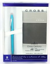Cross Classic Century Ballpoint Pen Gift Set with FREE Notebook TEAL