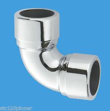 """McAlpine 35a-cb CROMATO 1.1 / 4 """"UK dimensioni del tubo a gomito"""