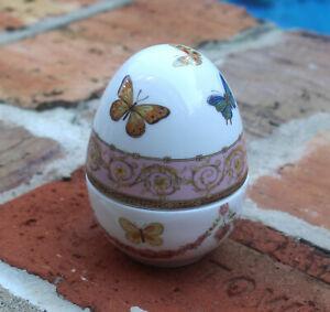 GorGeouS  Ceramic  Butterfly Trinket Box  BRAND NEW