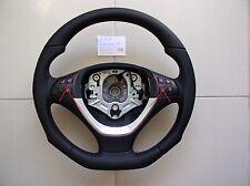 BMW X5 E70 X6 E71 NAPPA LEATHER ERGONOMIC INLAYS SPORT flat bottom THICK&HEAVY