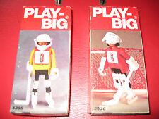 Auflösung großer Play Big Sammlung: hier 2 Sets Eishockey, NEU OVP