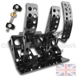 FITS BMW E30 Remote Hydraulic Floor Mounted Pedal BOX+BAR CMB6051-HYD-BOX+BAR