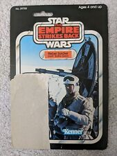 Vintage Star Wars Kenner Esb Empire Strikes Back Rebel Soldier Cardback Back