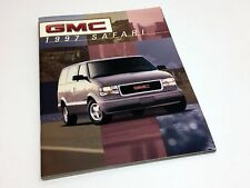1997 GMC Safari Brochure
