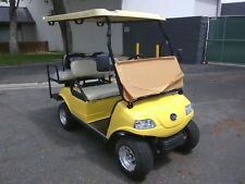 New 2020 yellow Evolution EV Golf Cart Car Classic 4 Passenger seat 48v WARRANTY