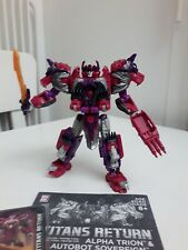 Transformers Titans Return Voyager Class Alpha Trion and Sovereign
