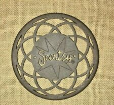 Scentsy Warmer Stand Trivet Brown Metal Round