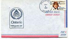 FFC 1984 First Flight Delta Air Lines Ontario Atlanta Georgia US Postal Service
