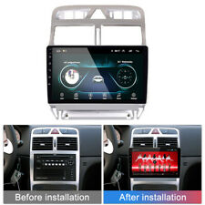 """9"""" Touch Screen Android 9.0 Car MP5 Player GPS Bluetooth For Peugeot 307 04 -13"""