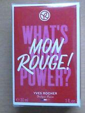 """* Yves ROCHER * Eau de parfum """"MON ROUGE !"""" 30 ml * femme * 100% NEUF sous cello"""