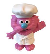 "Playskool Sesame Street Gonger Food Truck Driver 3"" Figure New Loose"